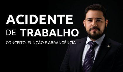 Conceito de Acidente de Trabalho é tema de vídeo com o advogado Alejandro Rendon